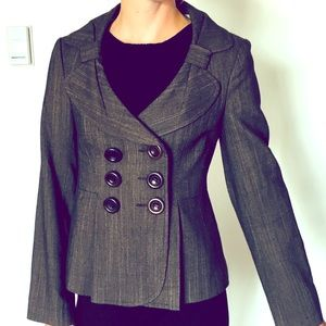 Nanette Lepore Button Blazer with Bow Details
